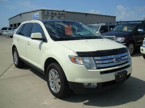2008 ford edge limited awd 4dr suv for sale albert lea mn v6 3 5l v6 cylinder white www. Black Bedroom Furniture Sets. Home Design Ideas